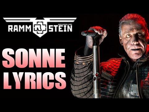 Rammstein sonne lyrics