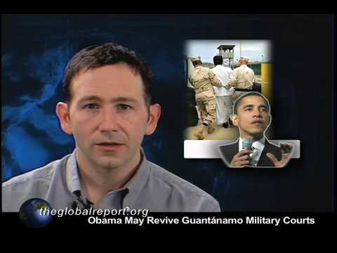 Obama May Revive Guantánamo Military Courts