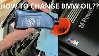How to Change oil on a BMW F30 & Reset Service Light ( bmw 3 series)