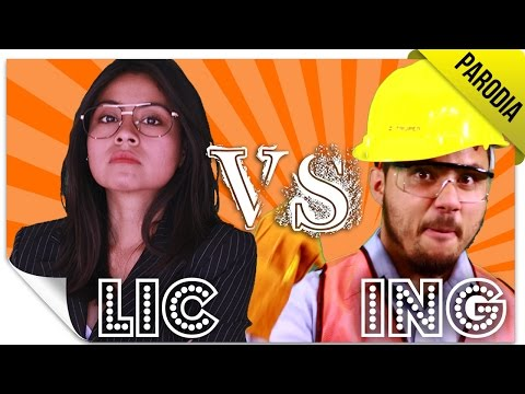Batalla de Rap: Licenciados VS Ingenieros | PARODIA: ERB | QueParió! & Laboratorio Network