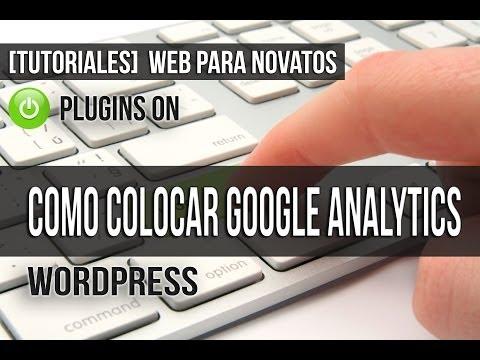 Como Configurar Google Analytics en Wordpress - Plugin