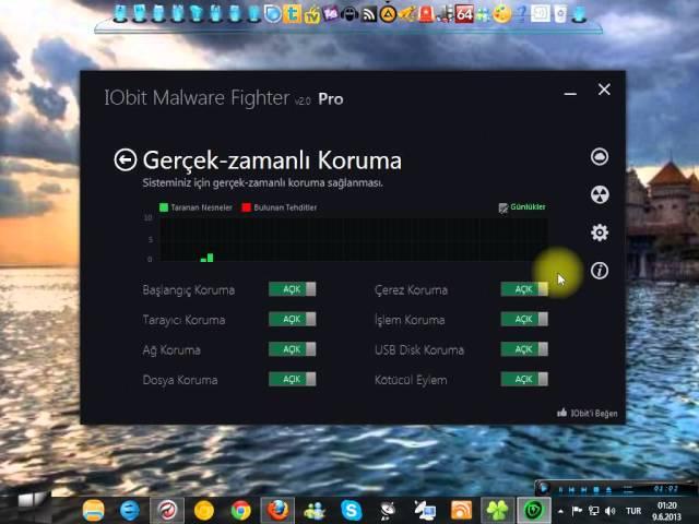 IOBİT Malware Fighter Pro v2 4 Licensing Key