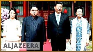 China's Xi meets North Korea's King Jung Un