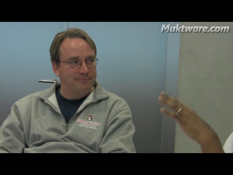 Linus Torvalds: We Don't Use Windows