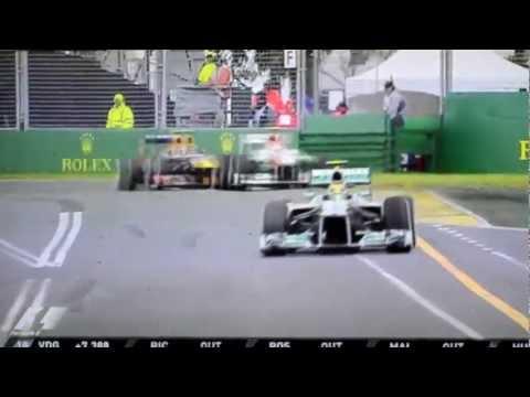 Lewis Hamilton VS Adrian Sutil Melbourne 2013 GP Australie - F1Saison