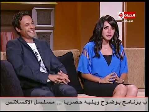 بوضوح - انجى علاء زوجة الفنان يوسف الشريف : يوسف كان بيتقمص الشخصية فى البيت وبيكلم نفسه وهو نايم