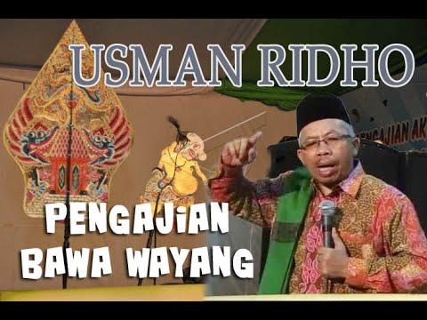 Pengajian Wayang Lucu Usman Ridho