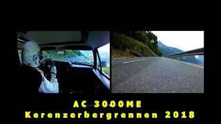 AC 3000ME Kerenzerbergrennen 2018