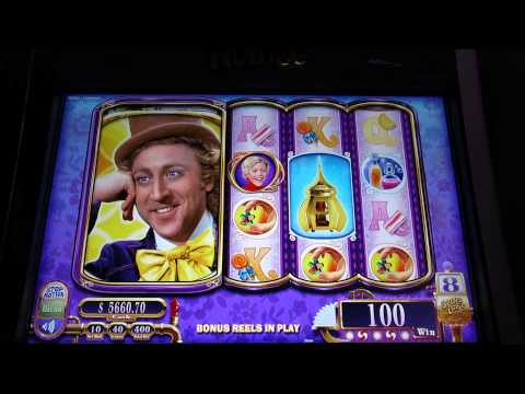 Willy Wonka & the Chocolate Factory Slot Machine