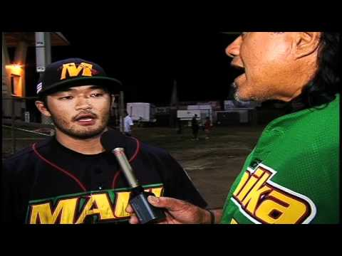 """WIN"" Na Koa Ikaika Maui Baseball Team Pitcher Clayton Uyechi"