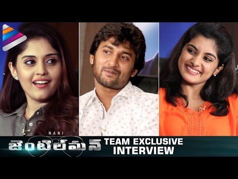 Nani Gentleman Movie Team Exclusive Interview | Surabhi | Nivetha Thomas | Telugu Filmnagar