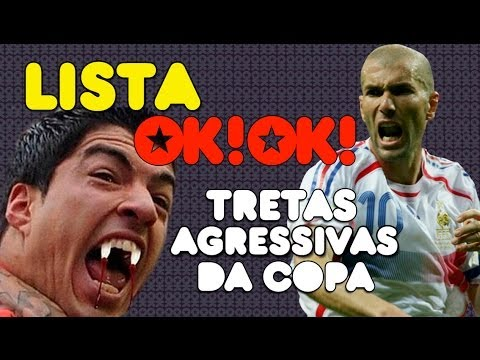 As Top 5 Tretas Mais Agressivas Da Copa Eveeeeeeeeeeer video
