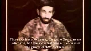 The Georgian Commander-in-Chief on TV threatens the Abkhazia