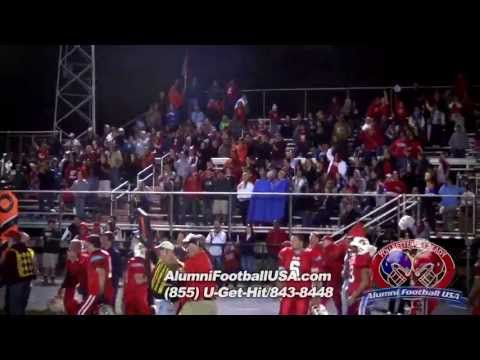 4-20-13 Giles vs Monroe (Highlights) Alumni Football USA