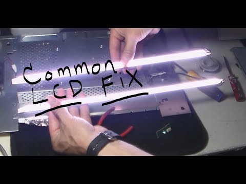 HOW TO FIX HP LCD. monitor turns off after 3 seconds (common repair)