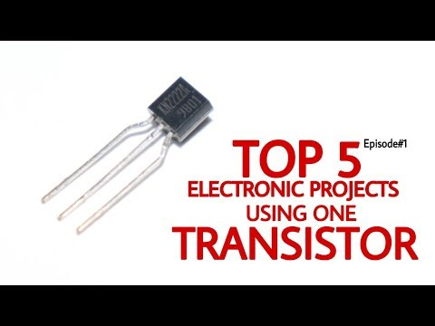 Top 5 Electronics Project Using One Transistor   episode#1