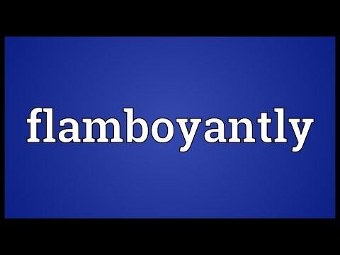 Header of flamboyantly