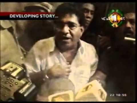 YouTube   Mervin Silva in Action at Sri Lanka Rupavahini Corporation