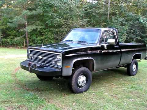 1973 Chevy C!0 Step Side Short Bed Custom  Classic