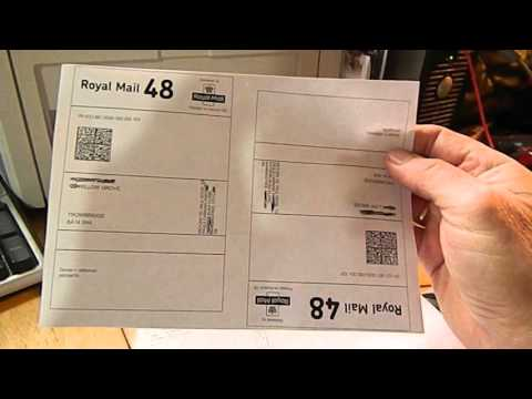 Royal Mail Despatch Manager Online label printing made easy.