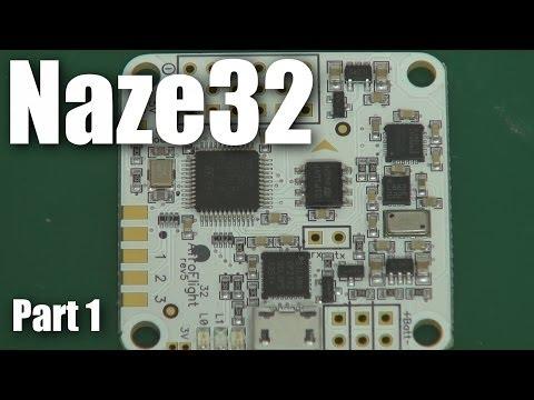 Naze32 multirotor flight controller (part 1)