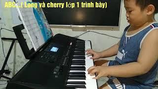 ABC... Hai bé lớp 1 trình bày( lớp nhạc đồ rê mí Thày Thông)hãy đăng kí kênh để nhận video đàn moi
