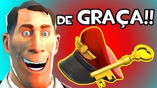 GANHE HATS E CHAVE DE GRAÇA no TEAM FORTRESS 2! Sorteio 12!!