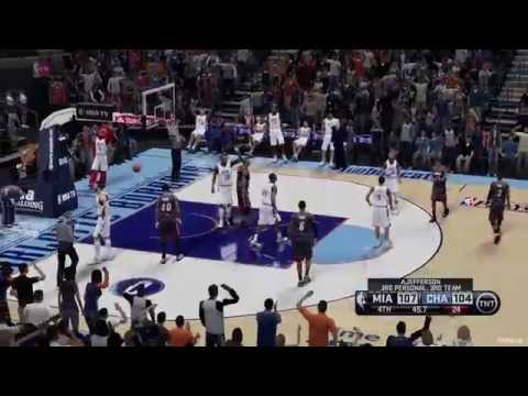NBA Playoffs Game 3 Miami Heat VS Charlotte Bobcats 2014-04-26