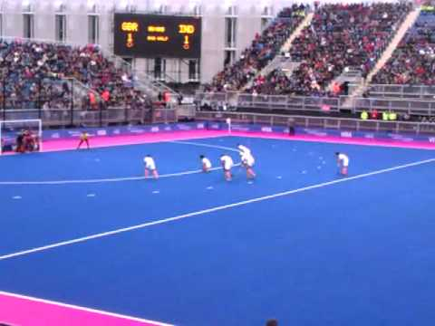 Visa Invitational Hockey Tournament: Great Britain vs India Penalty Corner