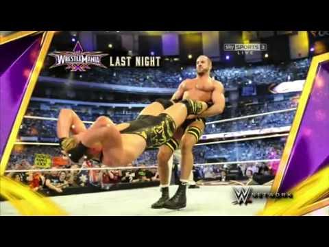 WWE crowd hums to Cesaro's theme - Raw 4/7/14