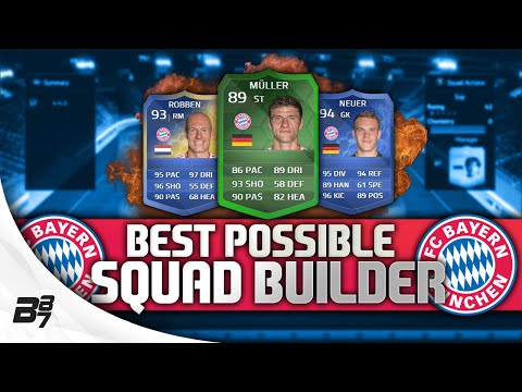 BEST POSSIBLE BAYERN MUNICH TEAM! w/ TOTY Ribery | FIFA 14 Ultimate Team Squad Builder