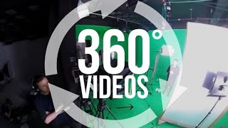 [360 Video] Behind the Scenes on our Green Screen Studio Shoot