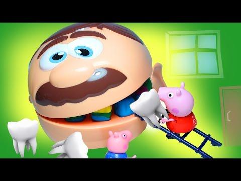 Мультик из игрушек. Мистер Зубастик поставил разноцветные зубы