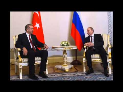 Turkish PM Erdoğan to Putin: Take us to Shanghai