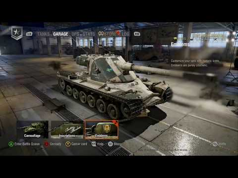 Kranvagn equiping and first gameplay! WoT Console. (On release day)