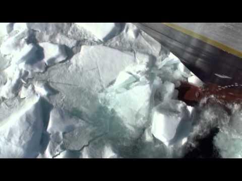 Crushing thru Arctic Sea Ice