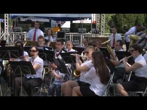 Az Egressy fúvószenekar koncertjével kezdődött a 23. Komáromi Napok