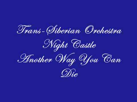 Trans-siberian Orchestra - Another Way You Can Die