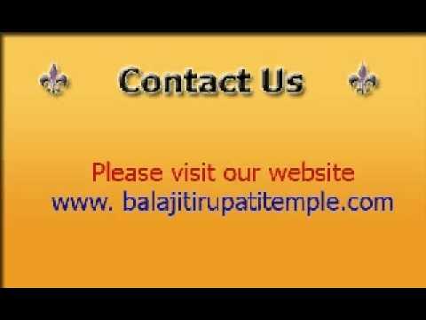 Balaji Tirupati Temple Mumbai, Balaji Bhagwan, Balaji Ji Prayer, Balaji Triupati Arti, video
