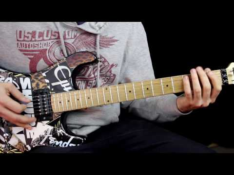 Pussywhipped Steel Panther Guitar Lesson