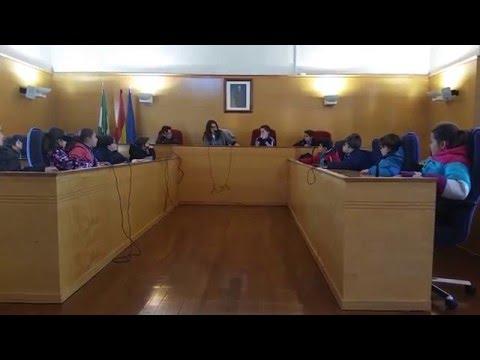 Alumnos de 4º de La Presentación visitan el Ayuntamiento de Guadix