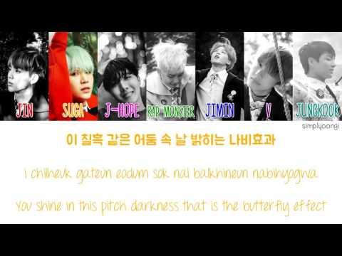 BTS [방탄소년단] - Butterfly (Color Coded Lyrics | Han/Rom/Eng)