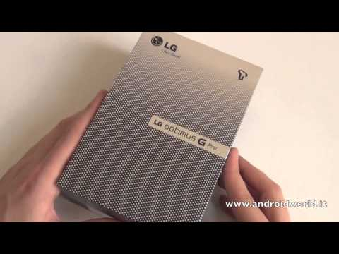 LG Optimus G Pro (corea). unboxing in italiano by AndroidWorld.it