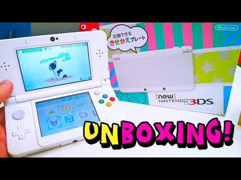 Unboxing - NEW Nintendo 3DS System!