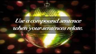 Conjunction and Compound Sentence Song - Educational Music Video