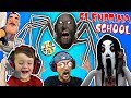 Escape Slendrina's School & Spider Granny House + Creepy Phone Calls W FGTEEV Duddy & Shawn