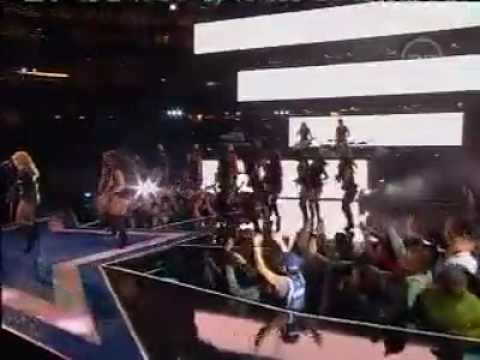 Shakira - She Wolf   Give It Up To Me - Nba All-star Game Half Time Show Live video