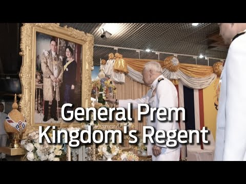 How did General Prem become the Regent?