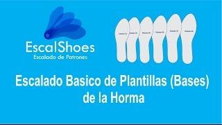 EscalShoes - Escalado de plantillas de la Horma