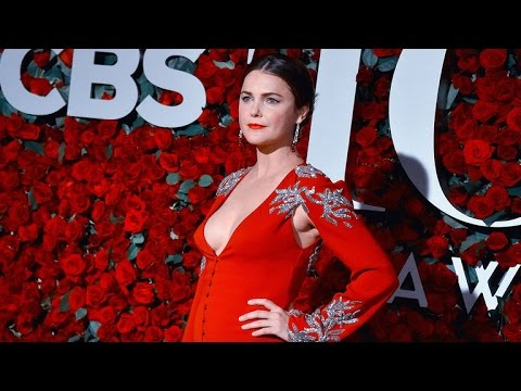 Keri Russell Makes Her First Public Appearance Post-Baby at the Tony Awards -- See the Pics!